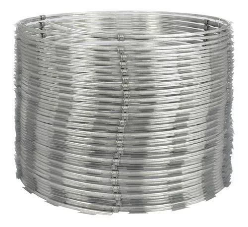 Cerca concertina dupla clipada 10 metros - frete grátis