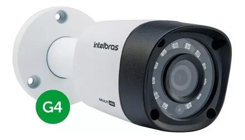 Câmera intelbras vhd 1010b g4 hd 720p multi hd 3,6mm 10mts