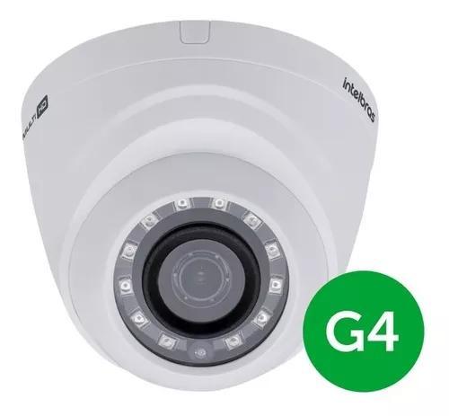 Câmera intelbras vhd 1220d g4 full hd 1080p 2,8mm dome