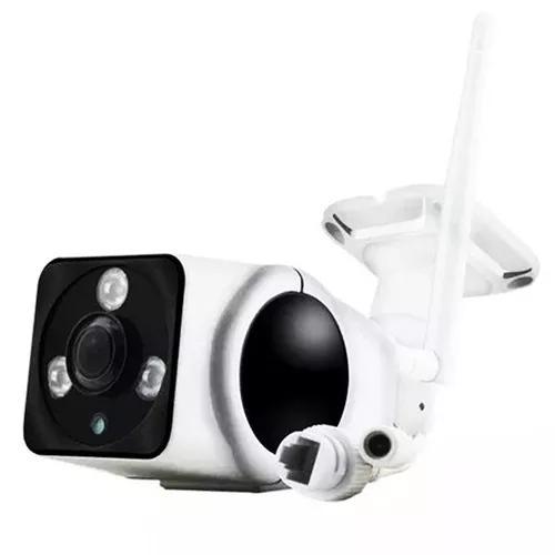 Câmera ip 360º externa wifi acesso ao celular prova
