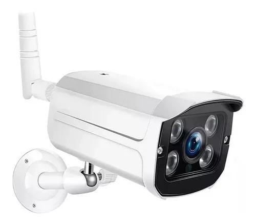 Câmera ip externa hd wifi prova d'água acesso r