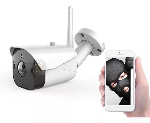 Câmera ip externa wifi prova de água