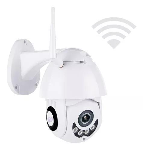 Câmera ip icsee infravermelho externa wifi hd prova d'água