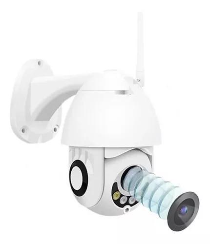Câmera ip speed dome zoom óptico ptz wifi prova de água