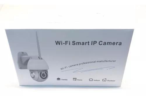 Câmera ip wifi rotativa externa prova da água hd icsee