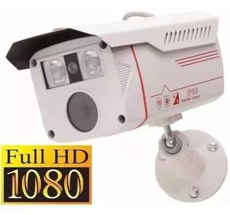 Câmera segurança ahd full hd 2500 linhas 1080p 3.6mm