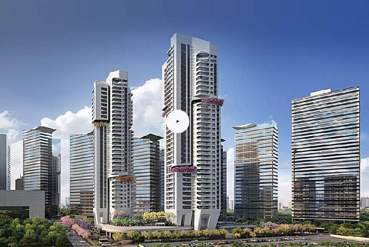 Condomínio parque da cidade-apartamentos de 134 m² a 227
