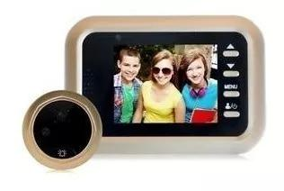 Digital smart peephole viewer 3.0 cam olho magico
