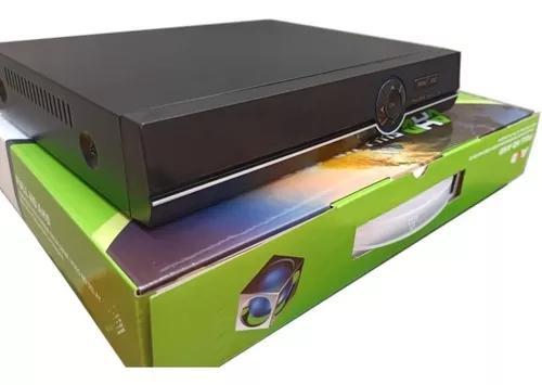 Dvr 4 gravador cameras canais 1080p ahd p2p nvr hvr 5