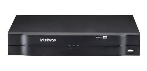 Dvr gravador 4 canais intelbras 1104 mhdx hdcvi multi hd nvr