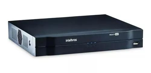 Dvr intelbras 8ch mhdx 1108 g4 multi hd 720p 5x1 cloud p2p