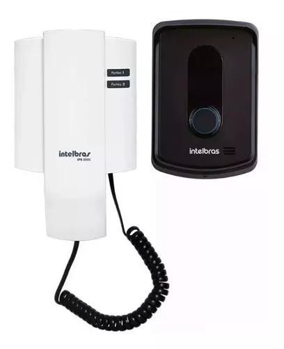 Interfone intelbras ipr 8010 res. com. porteiro eletrônico