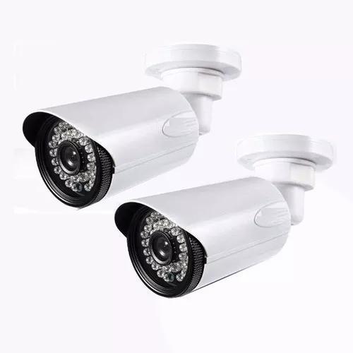 Kit 2 câmera segurança alta resolução ahd 36 2.0 mp led