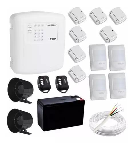 Kit alarme residencial 7 sensores s