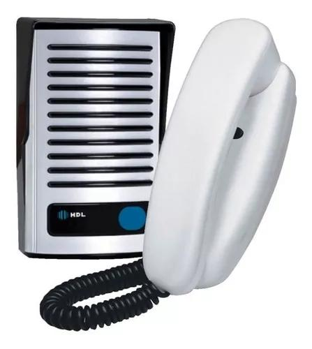 Kit porteiro eletrônico interfone hdl f8 ntl