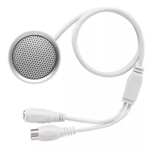 Microfone Monitoramento Dvr Intelbras Cftv Mic 3070 70 M²