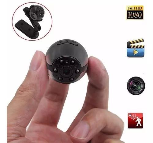 Mini câmera filmadora sq9 full hd dv 1080p visão 360º