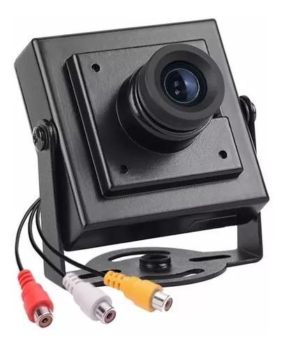 Mini câmera monitoramento cftv ccd 1/3 para dvr stand alone