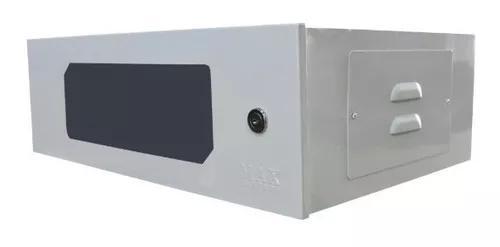 Mini rack 3u parede organizador cftv informatica padrão