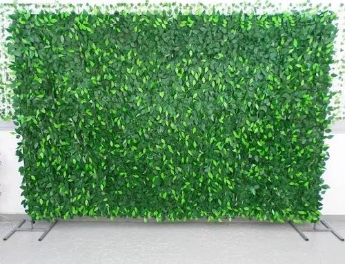 Muro inglês painel de folhas fícus 2 x 2 - frete grátis