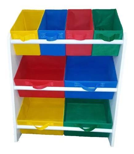 Organizador infantil porta brinquedos montessoriano médio