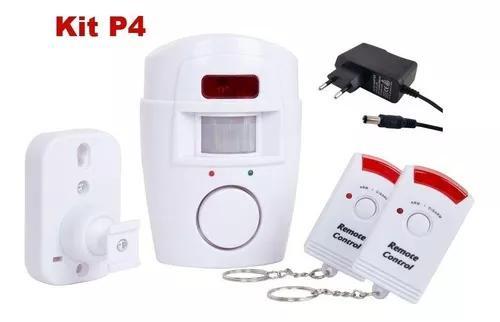 P4 alarme residencial pop comercial s