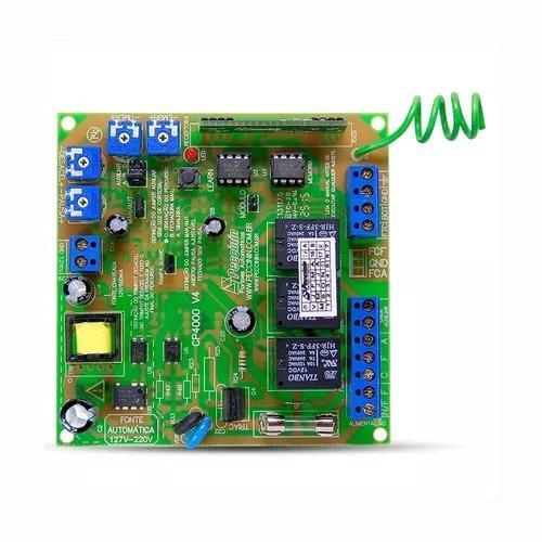 Placa central eletrônica portão eletrônico peccinin 4000