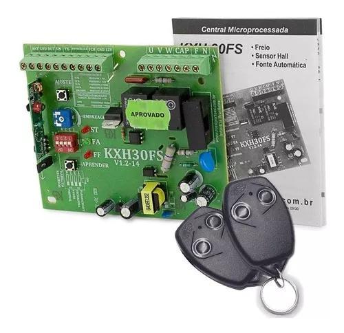 Placa motor kxh30fs dz4 dz3 dz nano rossi com 2 controles
