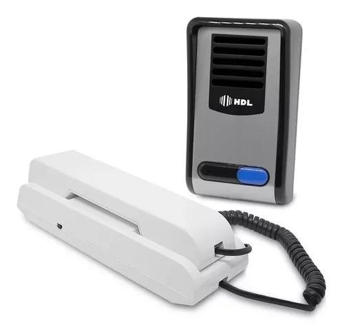Porteiro eletrônico interfone hdl f8 sn tecla não perturbe