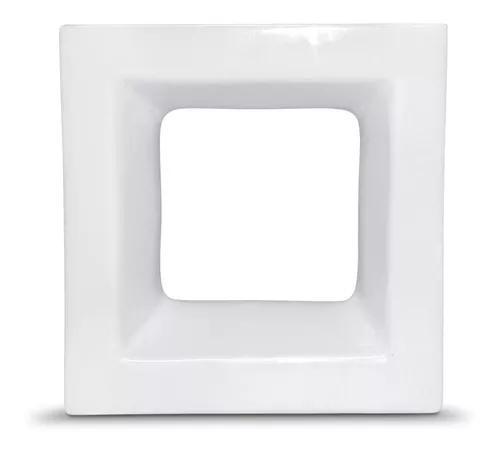 Promoção!! cobogó cerâmico cor branco esmaltado 20x20 cm