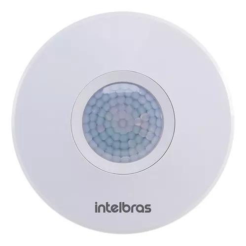 Sensor de presença iluminação esp 360 branco intelbras