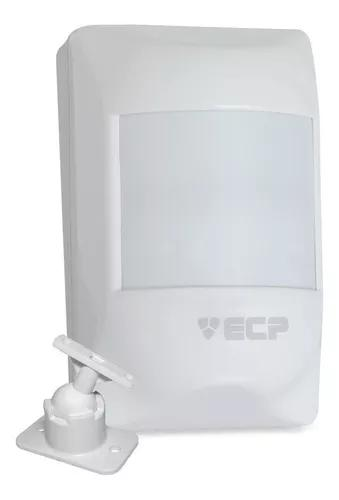 Sensor de presença infravermelho ecp alarme visory +