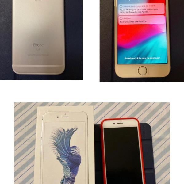 Celular iphone 6s - 16gb prata