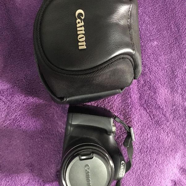 Câmera canon sx40hs, usada poucas vezes