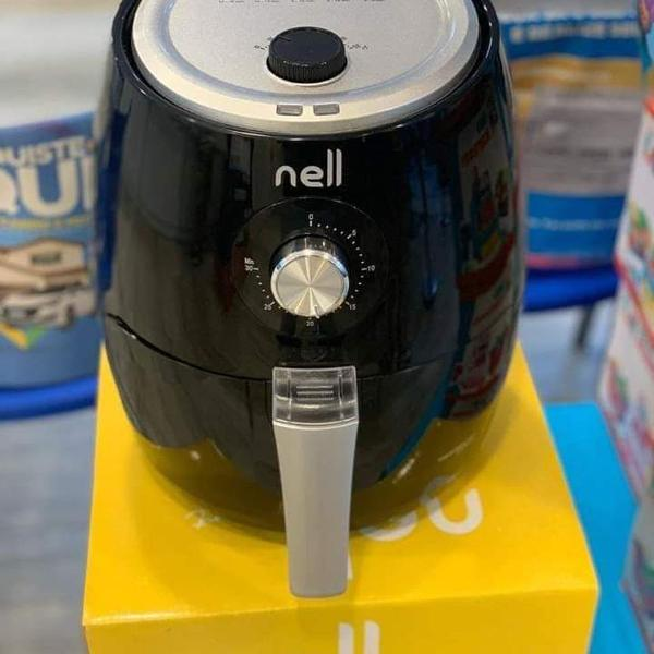 Fritadeira elétrica sem óleo/air fryer nell smart - preto