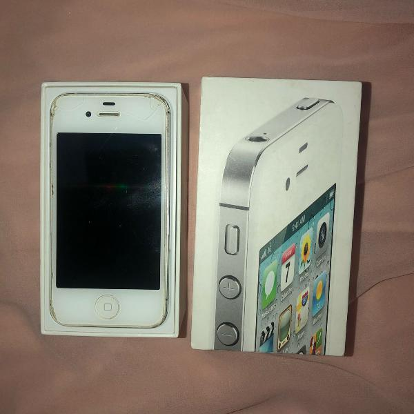 Iphone 4s 16gb + cabo usb