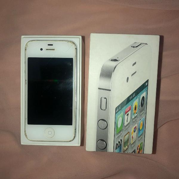 Iphone 4s 16gb + cabo usb