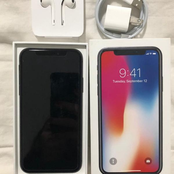 Iphone x - 256gb - space gray - excelente