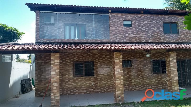 Ipioca cond. sauaçuhy casa duplex 3 qts suite