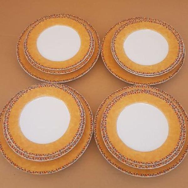 Jogo de jantar, porcelana vista alegre portugal