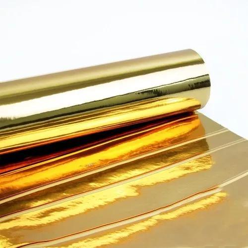 Adesivo para móveis cromado dourado 0,61 x 2,50m