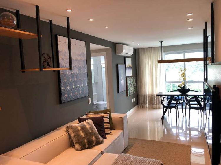 Apartamento para venda de 80 m² com 2 quartos em barra da