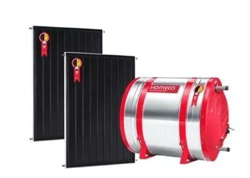 Aquecimento solar boiler alta pressão anodo 200l +1placaab