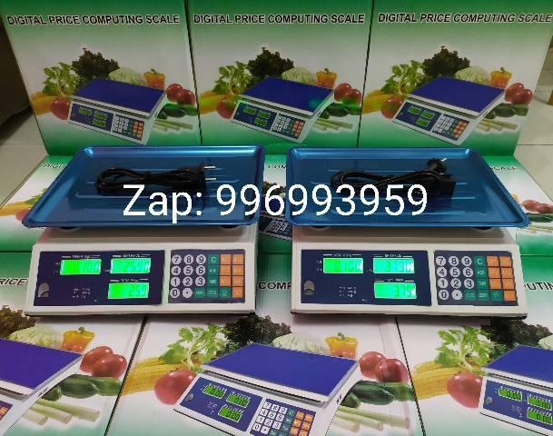 Balança digital eletrônica 40kg whatsapp 99699/3959