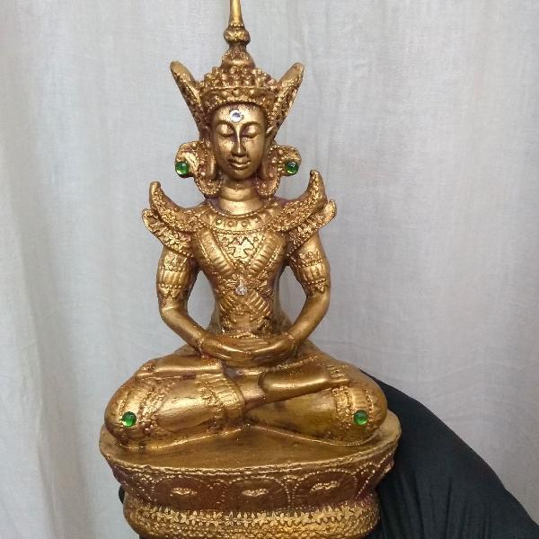 Buda ouro artesanal