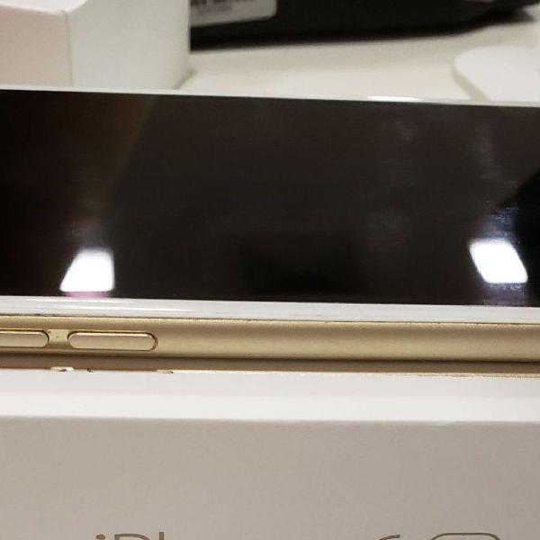 Celular iphone 6s gold 32 gb ótimo estado. acompanha caixa
