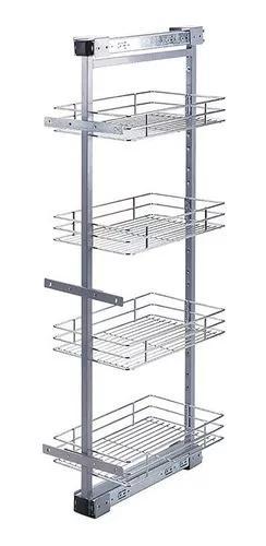 Coluna deslizante 2091 c/04 cestos cromado - masutti