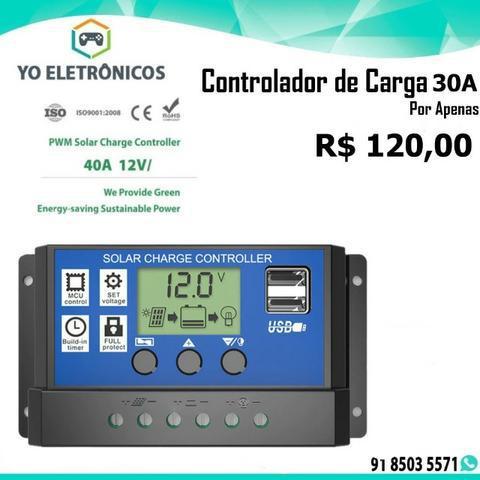Controlador de carga solar controlador do sistema solar 30a