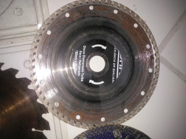 Disco de serra circular 20,00 troco por mochila resistente