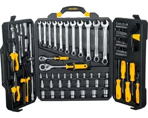 Jogo de ferramentas com maleta